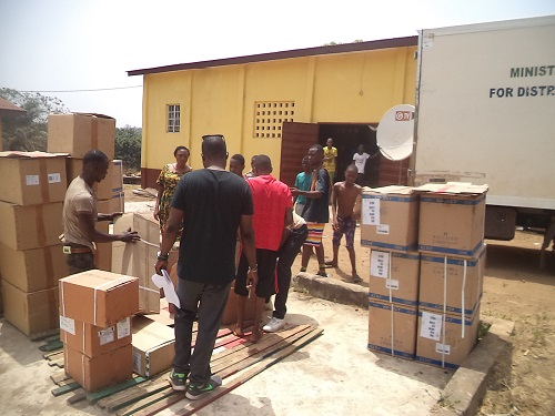 National Medical Supplies Agency free health care medicines distribution